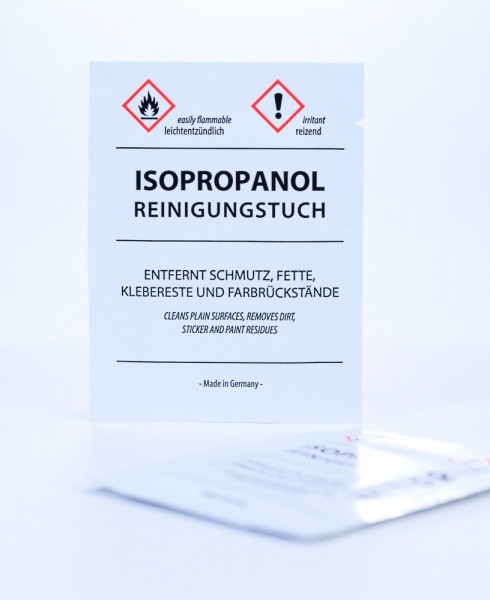 Reinigungstücher mit Isopropanol 70%, lose im Karton