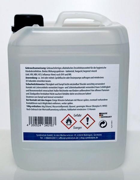 Händedesinfektion, 5 Liter Kanister